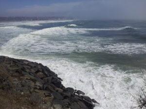 cliff walk ocean